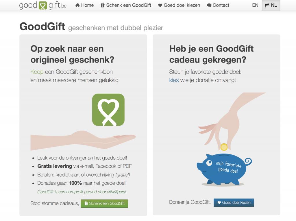 originele Goodgift website